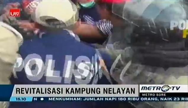 Wartawan Media Pendukung Ahok Diusir Warga Luar Batang