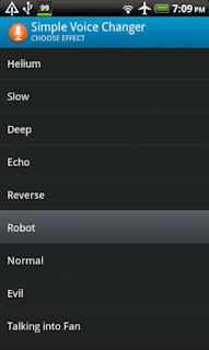 تحميل تطبيق تعديل الصوت المسجل Simple Voice Changer للاندرويد مجانا
