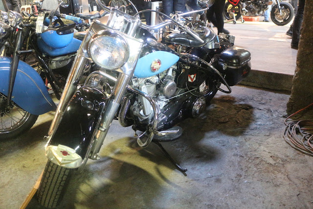 the one moto show number 9 custom build motorcycle harley davidson
