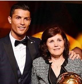 Cristiano Ronaldo Cinta dan Sayang Ibu
