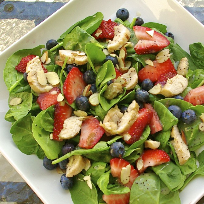 Panera's Strawberry Poppyseed Salad
