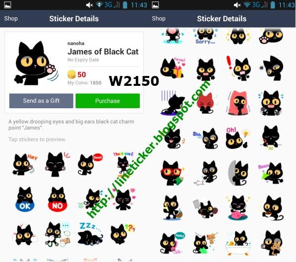 Facebook cat sticker name