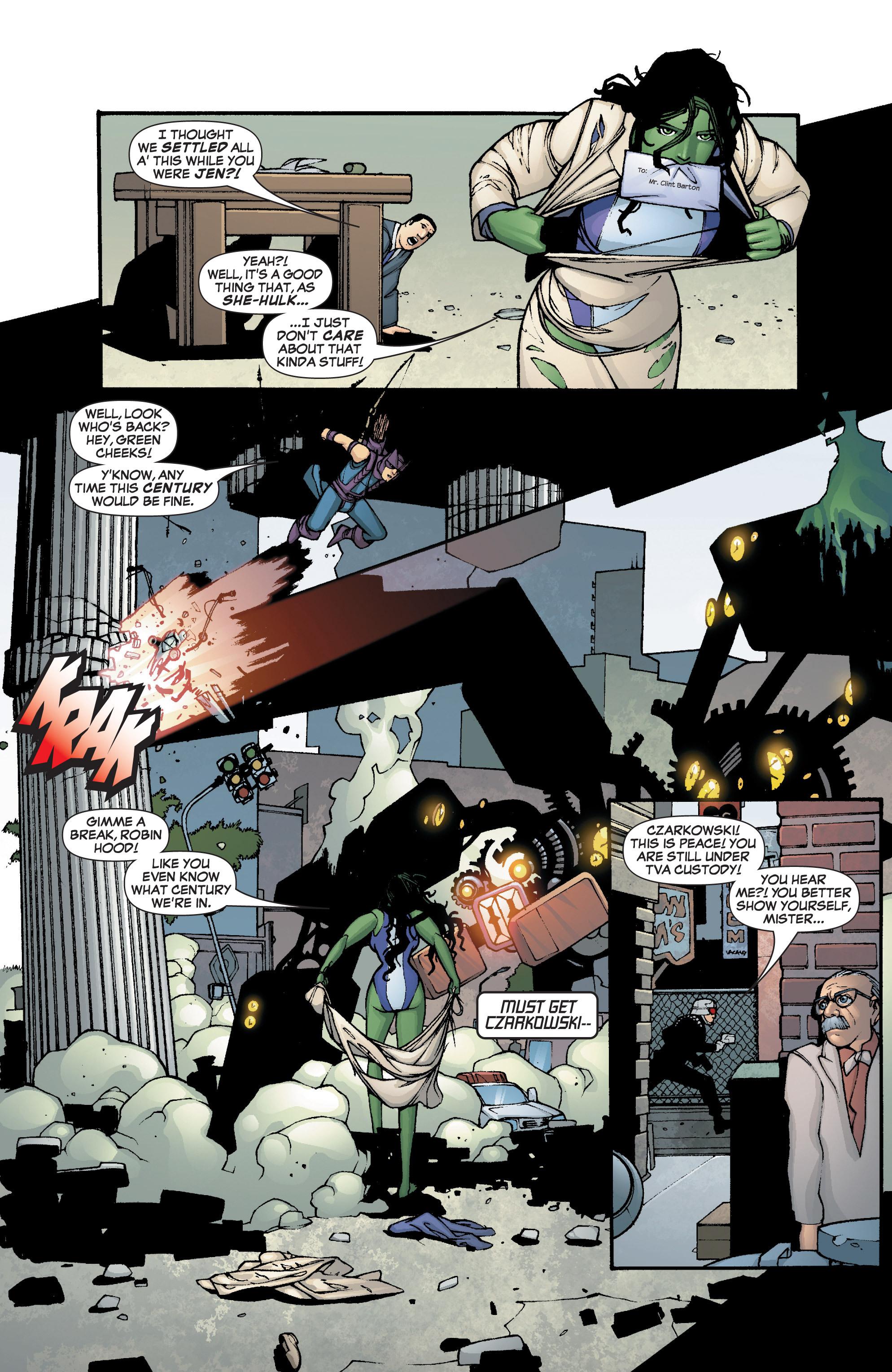 Read online She-Hulk (2005) comic -  Issue #2 - 19