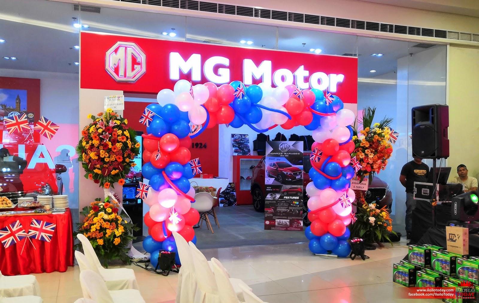 MG Motors Iloilo showroom