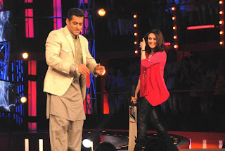 Sneak Peak : Preity Zinta on the sets of Bigg Boss
