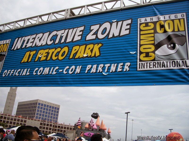 The Petco Park Interactive Zone banner