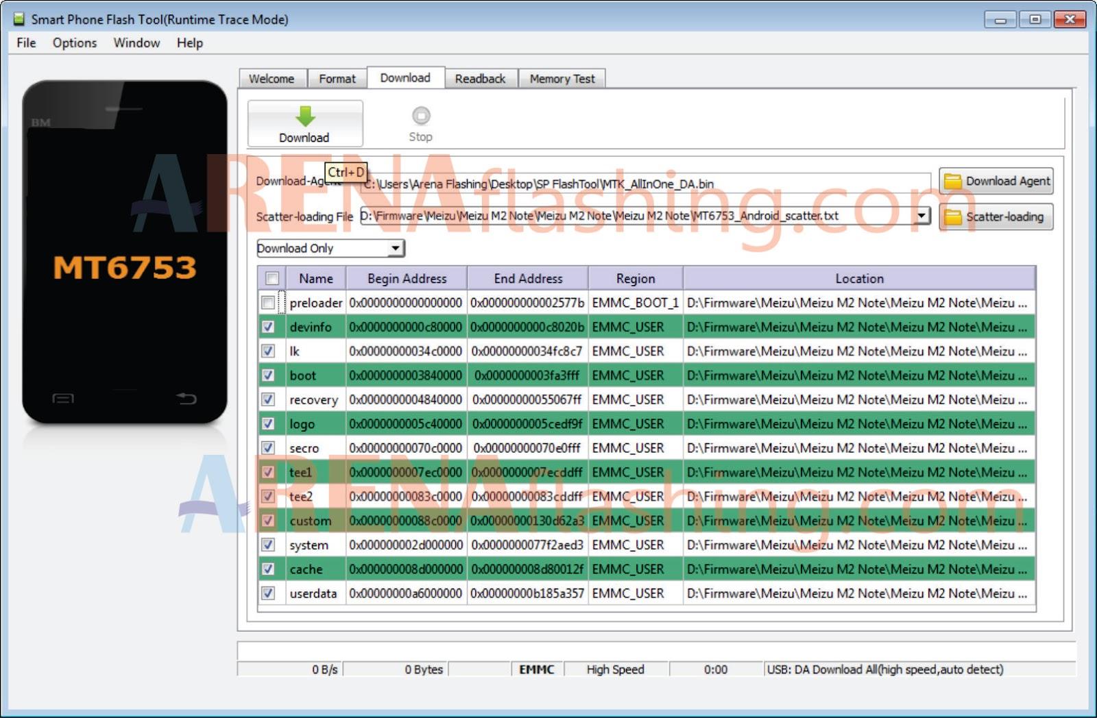 Cara Flash Meizu M2 Note Tested Berhasil 100% - Tutorial Flashing