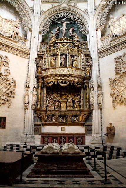 capilla de los Condestables catedral de Burgos
