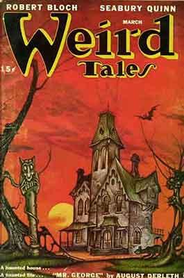 Robert Bloch fue un colaborador habitual en Weird Tales