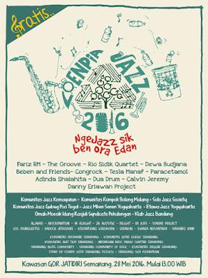 Loenpia Jazz 2016 – Ngejazz Sek Ben Ora Edan