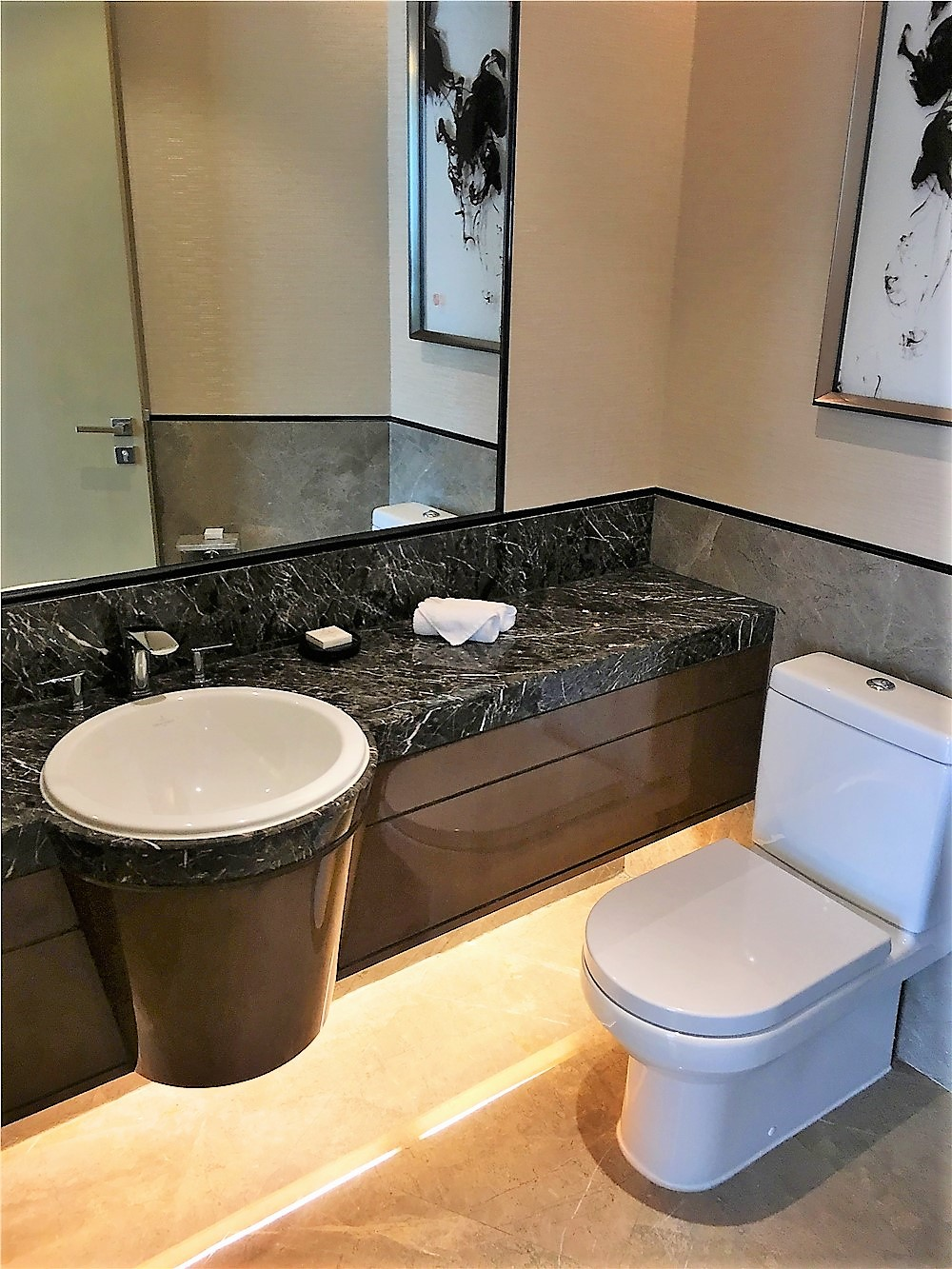 深圳前海華僑城JW萬豪酒店(JW Marriott Hotel Shenzhen Bao'an)-洗手間