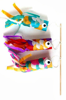 Cara Membuat Kerajinan Tangan Yang Mudah Untuk Anak SD, Ikan Terbang 8