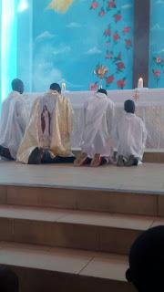 Exposition à l'Eglise
