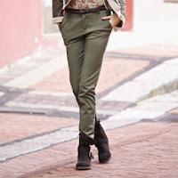 Pantaloni slack din serj femei marimi 34 - 48