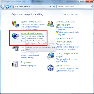Cara Sharing Data Folder, Disk D dan C Program System di Windows 7