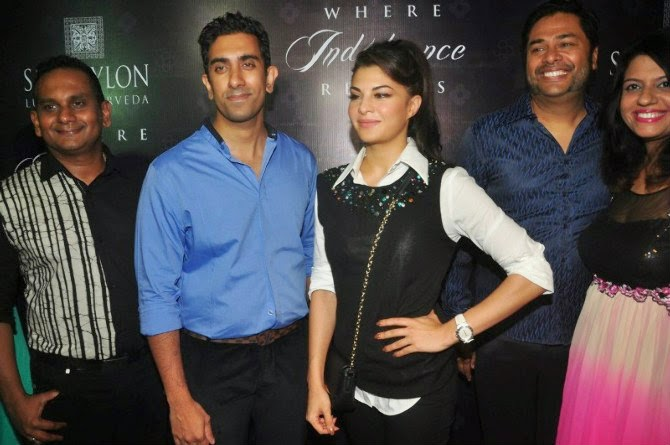 Jacqueline Fernandez At Ceylon Luxury Ayurveda Launch