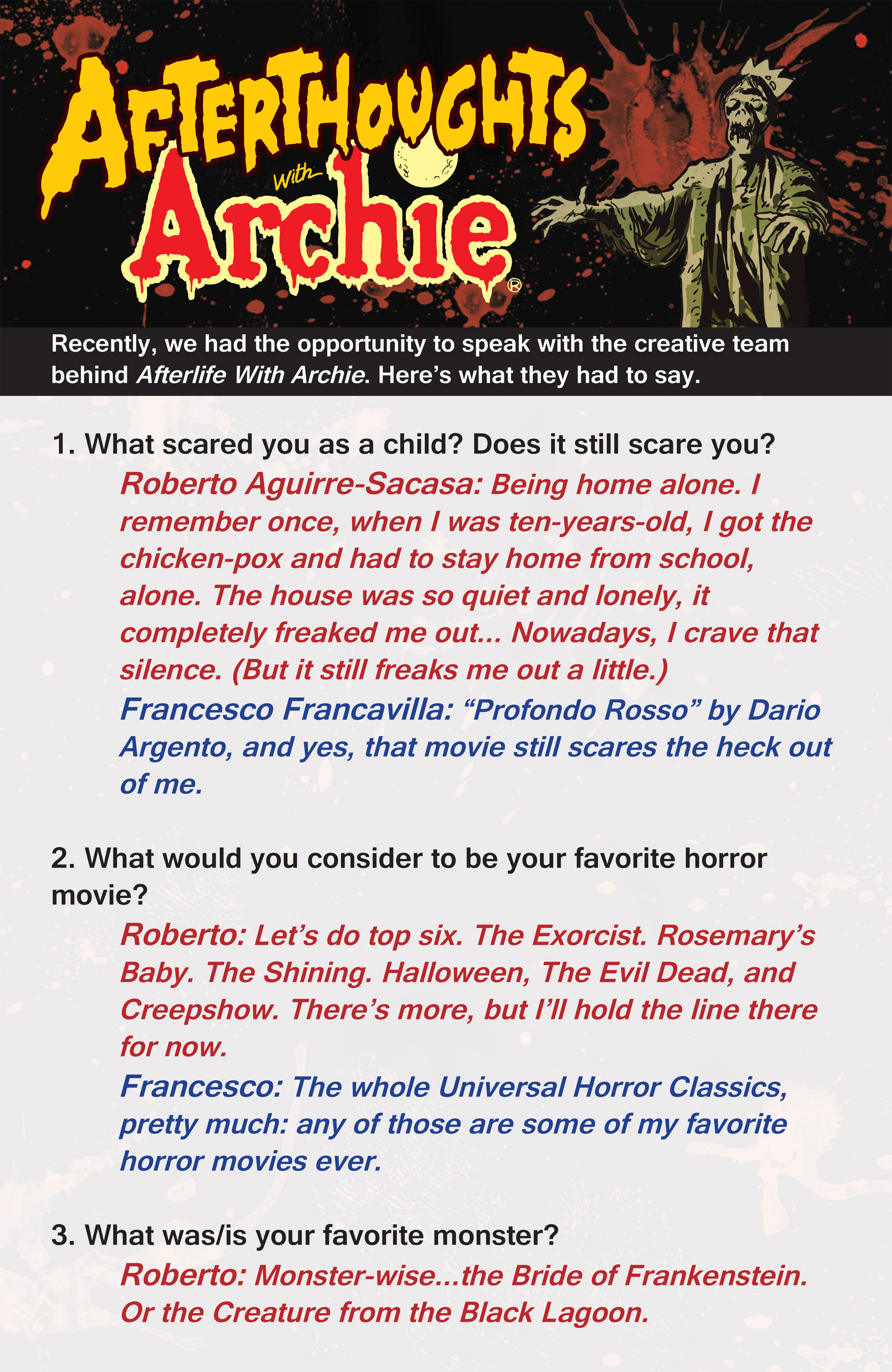 Read online Afterlife with Archie comic -  Issue #1 - 27