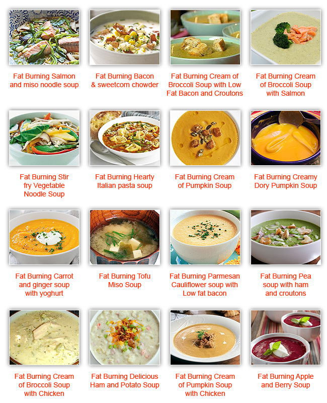 Fat Burn Diets: Fat Burning Soup Diet Recipes Quick And So Simple To Cook