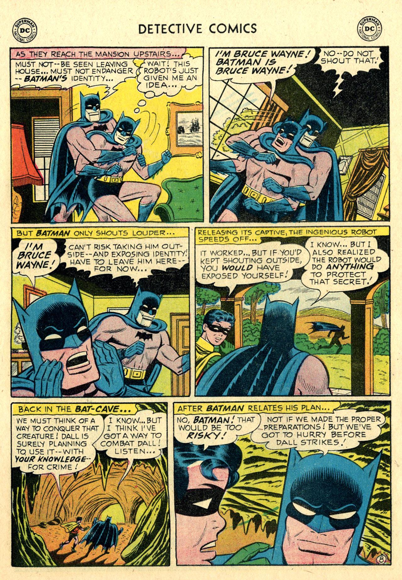 Read online Detective Comics (1937) comic -  Issue #239 - 10