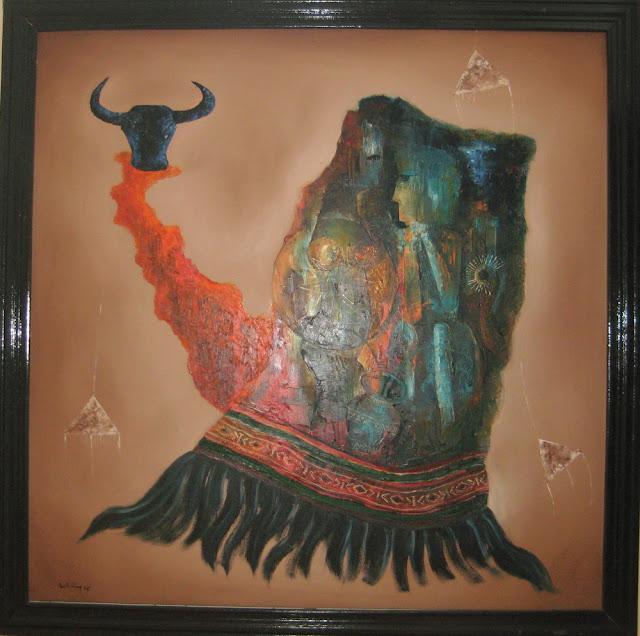 Tác phẩm hội họa về đề tài Tây nguyên 2
