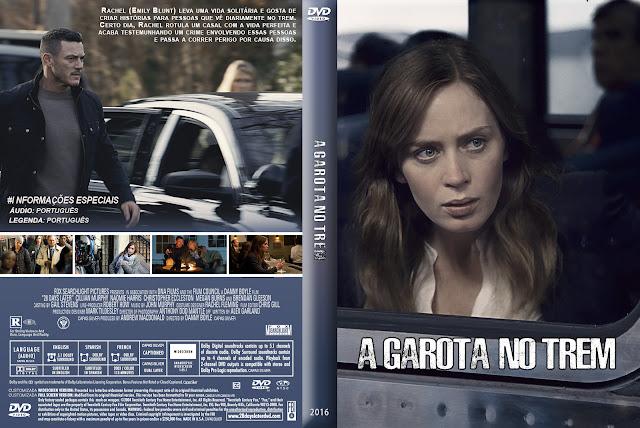 Capa DVD A Garota No Trem