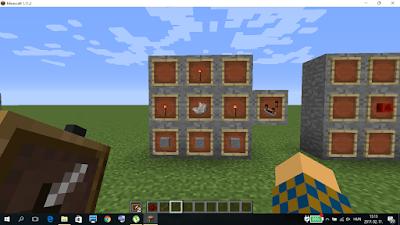 minecraft vöröskő komparátor