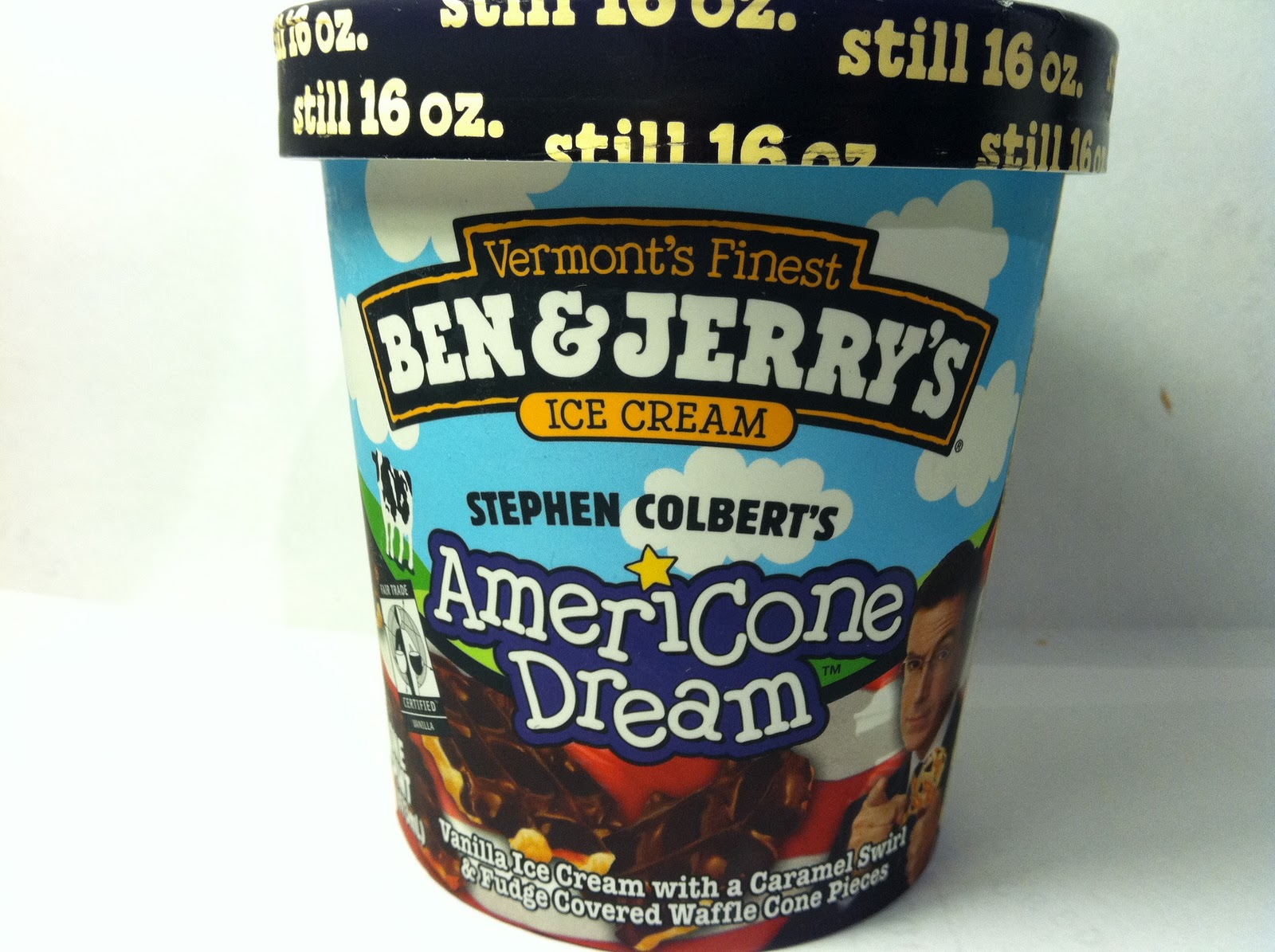 Crazy Food Dude Review Ben Jerry S Stephen Colbert S Americone Dream Ice Cream Stephen colbert's ben & jerry's ice cream flavor! americone dream ice cream