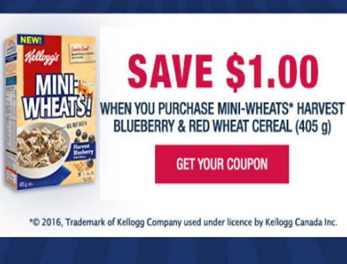 Websaver Mini Wheats $1 Off Coupon