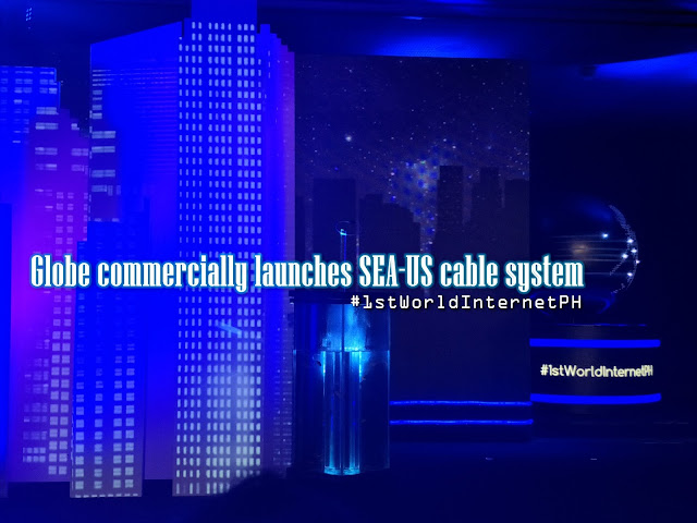 Globe commercially launches SEA-US cable system; connect Davao to US for enhanced PHI internet connectivity.