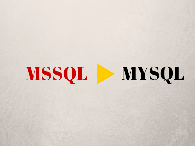 How To Convert MS SQL Queries to MySQL