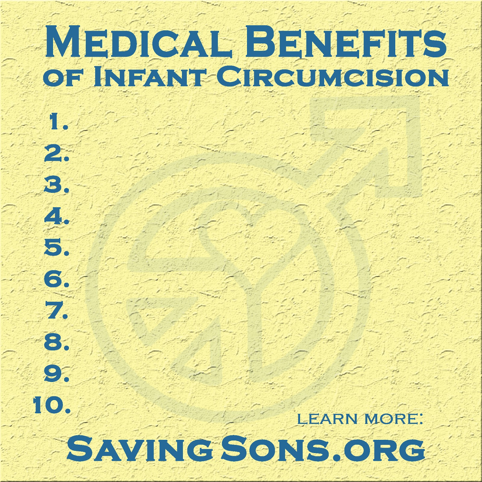 neonatal circumcision a benefit to health What is a circumcision circumcision means cutting off the foreskin, or ring of  tissue, that covers the head of the penis it is usually done the day your newborn .