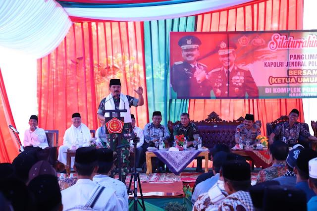Kunjungi Pesantren Nurul Yaqin di Padang, Ini Kata Panglima TNI