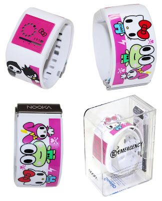 Love Through Design - Nooka x Sanrio Zub Zirc 38 Watch by Tokidoki