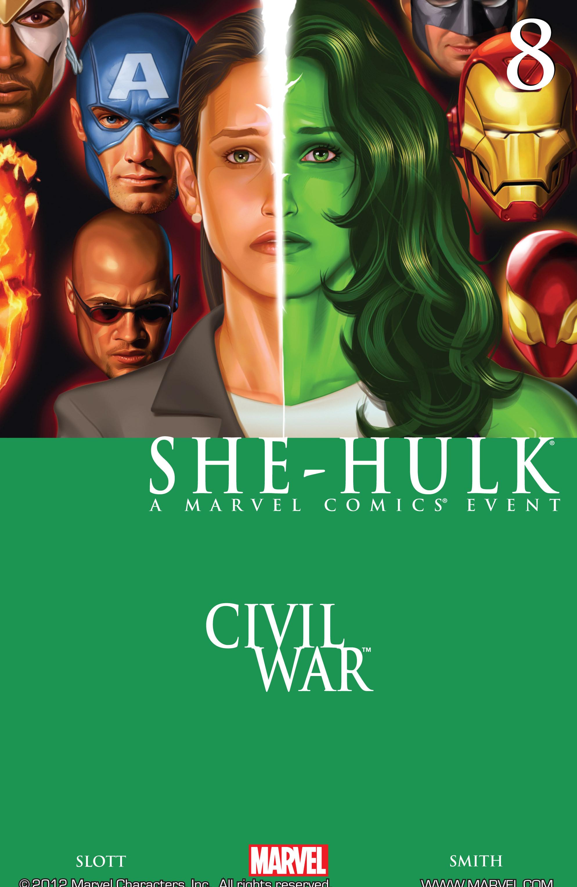 Read online She-Hulk (2005) comic -  Issue #8 - 1