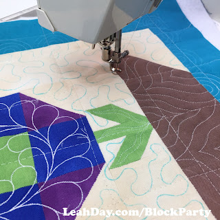 Blooming Nine Patch Quilt Block Tutorial with Leah Day