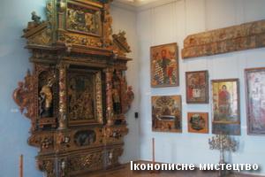 Ікони в музеї замку