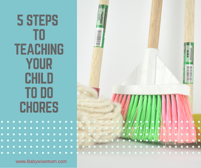 5 Steps To Teaching Your Children to Do Chores