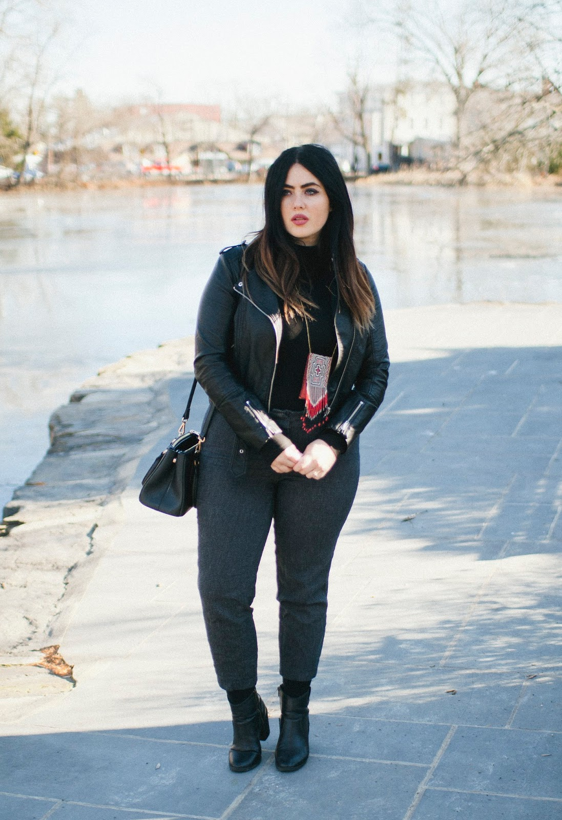 philadelphia, fashion, blogger, style, vegan, leather, black, boho
