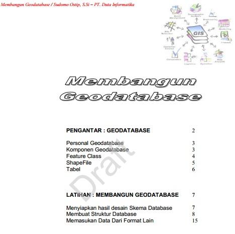 Membangun Geodatabase [Paper]