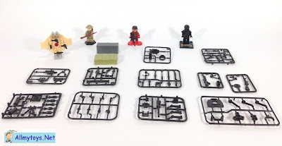 Toy guns and weapons for Lego Minifigures Soldiers