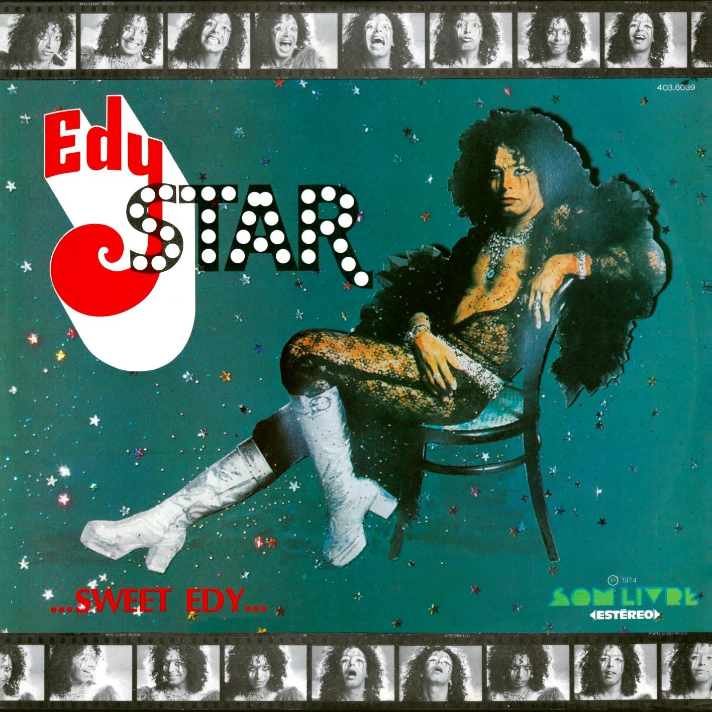 Joia Moderna relança 'Sweet Edy', pioneiro LP glam nacional de Edy Star