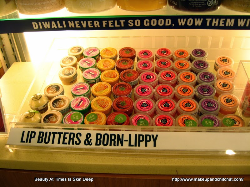 The Body Shop  Born Lippy Lips Balms photo