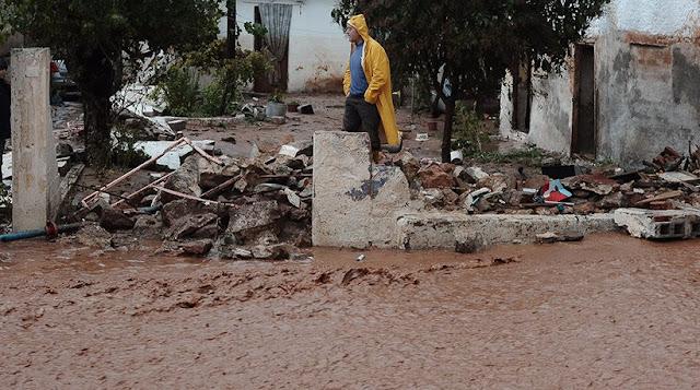 Η Ένωση Ποντίων Μάνδρας για την τραγωδία με τους 15 νεκρούς από τις πλημμύρες