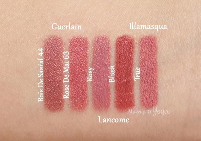 Lancome Le Crayon Lip Contour Liner Rosy Swatches Blush
