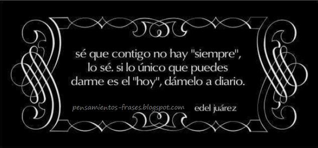 frases de Edel Juárez