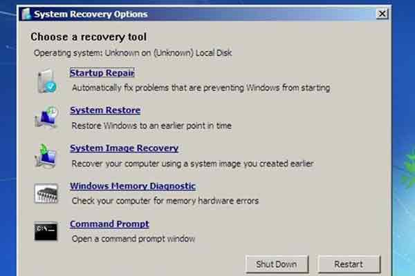 Failure Configuring Windows Update
