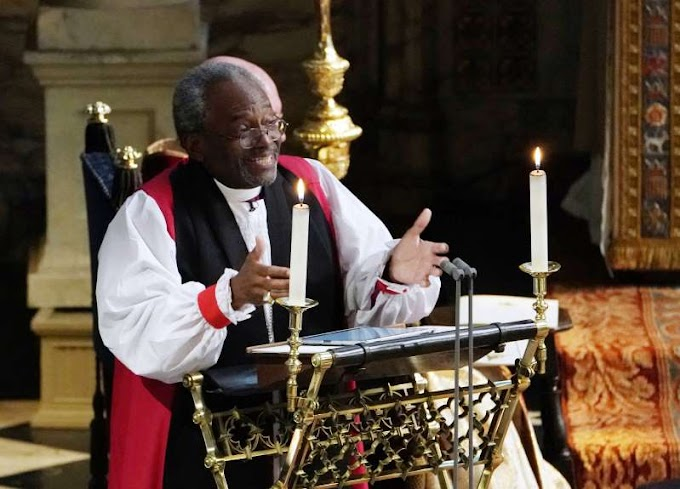 US bishop at royal wedding thought invitation was a prank