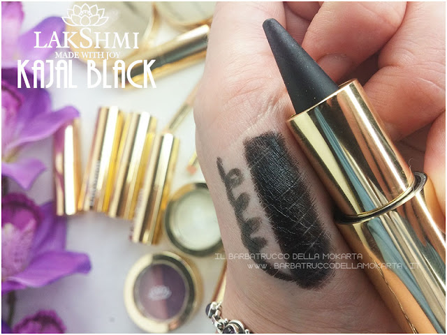kajal nero swatches lakshmi makeup vegan ecobio