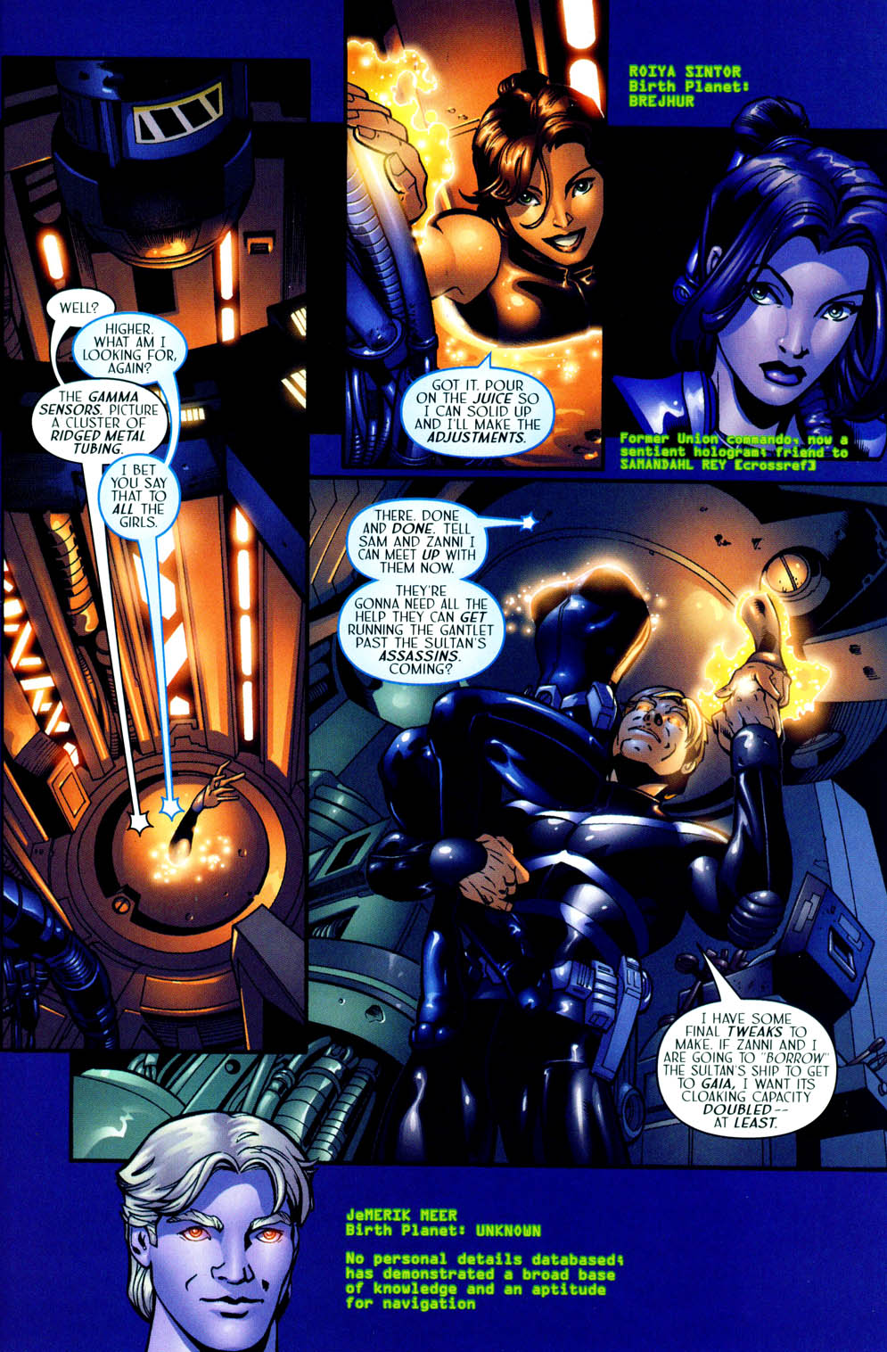 Read online Sigil (2000) comic -  Issue #12 - 5