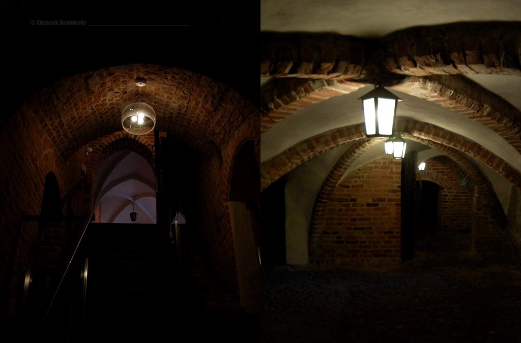 Piwnice zamku biskupiego w Lidzbarku Warmińskim